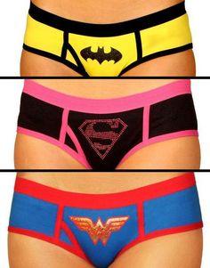 Women's Superhero Boy Short Set ♥ L.O.V.E.