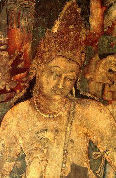 Rubin Museum of Art, Buddhist cave painting (Adjanta?)