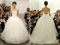 wedding dresses vera wang fall 2013
