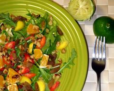 UPC's #Paleo Sweet Citrus Salad is a great salad for any time of day or any occasion, fully #vegan friendly! #grainfree #gutenfree