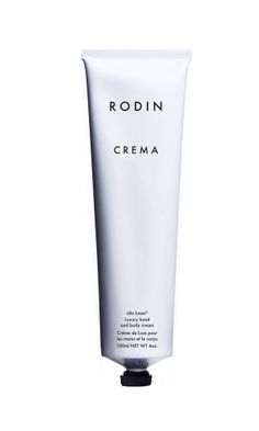 Wrap your skin in pure luxury. A fabulous blend of essential oils, the Rodin olio lusso beauty collection is a twenty-first century approach to easy, off-the-cuff luxury for on the go women of all ages who seek touchable, dewy, light-reflecting skin.The Rodin Olio Lusso Crema Hand Cream by Recine is the ideal present for someone who deserves to be pampered. Indulge yourself, you've earned it.