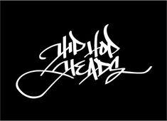 Urban Calligraphy: Hip Hop Heads Logo