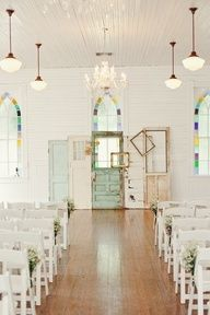 If I was to do an indoor wedding i love this!