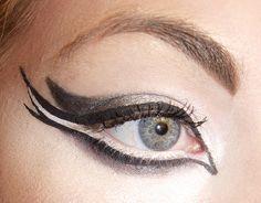 Black Swan Inspired Make Up Ballet Makeup, Dance Makeup, Eye Makeup Tips, Beauty Makeup, Hair Makeup, Makeup Style, Makeup Eyes, Maquillage Halloween, Halloween Makeup