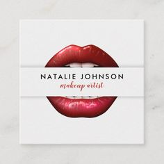 Makeup artist cool 3d red lips modern gray beauty square business card Square Business Cards, Business Cards Layout, Beauty Business Cards, Salon Business Cards, Gold Business Card, Makeup Artist Business Cards, Minimalist Business Cards, Unique Business Cards, Red Lips