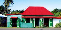{On My Travel Wishlist} Reunion Island Madagascar, Case Creole, Voyage Reunion, Mauritius, Amazing Architecture, Wonderful Places, Caribbean, Facade, Around The Worlds