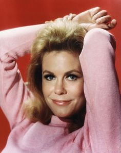 Elizabeth Montgomery, my favorite witch of all time.