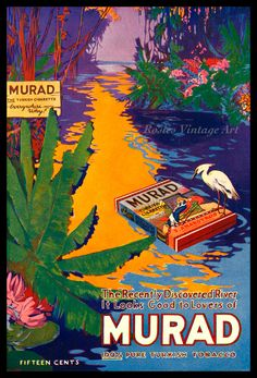 Murad. The turkish cigarette.