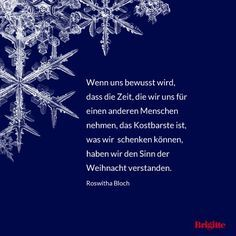 Advent: Besinnliche und schöne Zitate zu Weihnachten - BRIGITTE