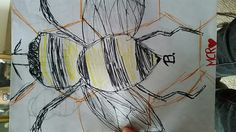 First attempt to # manchester bee