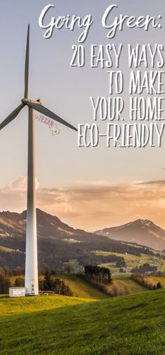 "Mom life is hard enough. Don't make it harder by going ""green home""! Here are 20 EASY ways to make your home an eco-friendly home!"