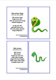 Mariaslekrum - Illustrerade sånger. Daycare Crafts, Crafts For Kids, Learn Swedish, Kids And Parenting, Montessori, Songs, Education, Learning, School