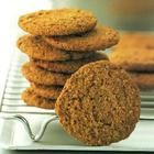 Digestive biscuits recipe -- just some simple substitutions (and a little less sugar)