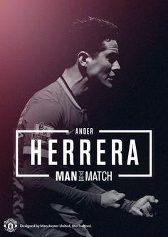 Ander Herrera, goal scorer and Man of the Match. 4.1.2014