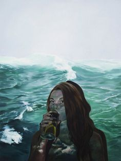 Jen Mann is a young Canadian painter artist and writer who explores the questions of identity and self, through her realistic paintings. Her oil ar. Canadian Painters, Canadian Artists, Inspiration Art, Photoshoot Inspiration, Pop Art Illustration, Illustrations, Dreams And Nightmares, Painter Artist, Realistic Paintings
