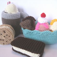 Ice Cream Treats by craftyanna, via Flickr
