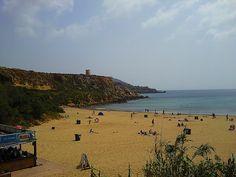 Golden Bay #Malta: http://www.europealacarte.co.uk/blog/2011/06/12/malta-beaches/