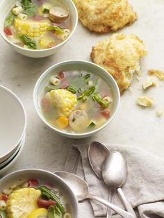 Summer Minestrone #myplate #soup #veggies