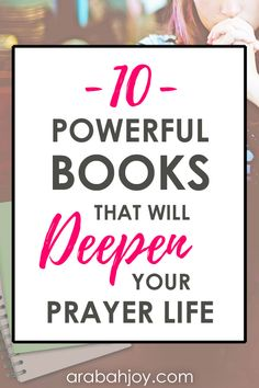 Are you looking to learn more about prayer and strengthen your faith in the process? These are 10 powerful books that will deepen your prayer life. Prayer Verses, Faith Prayer, Faith In God, Prayer Prayer, Bible Verses, Prayer Books, Christian Prayers, Christian Life, Christian Living