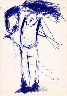 Die Naht, Zeichnung