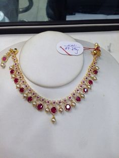 pretty - online jewellery shopping store, sell jewelry, a jewelry store *ad Gold Bangles Design, Gold Jewellery Design, Jewelry Design Earrings, Beaded Jewelry, Necklace Designs, Necklace Ideas, Pearl Jewelry, The Bling Ring, Gold Jewelry Simple