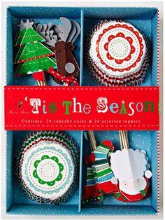 Tis the Season Christmas Cupcake Kit