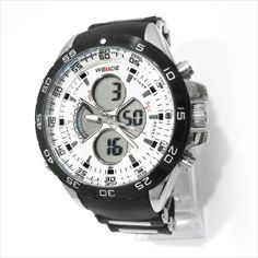 Weide Sports Watch Analogue and Digital Display White on eBid United Kingdom £21.95 or Make an offer