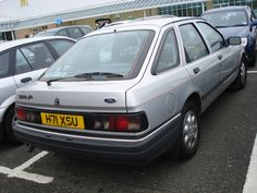 1990 Ford Sierra 2.0 Ghia | by GoldScotland71 1990s Cars, Ford Sierra, Henry Ford, Ford Motor Company, My Ride, Old Cars, Cars And Motorcycles, Classic Cars, Vans