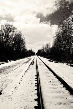 a beautiful depiction of the midwest as the seasons turn, compliments of alita jewel. Fall Photos, Railroad Tracks, Compliments, Jewel, Trail, Challenges, Shades, Seasons, Autumn