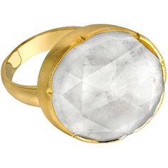 Irene Neuwirth Rainbow Moonstone Ring