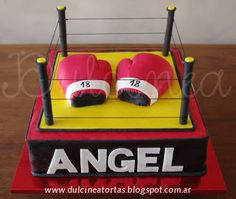 Torta Boxeo