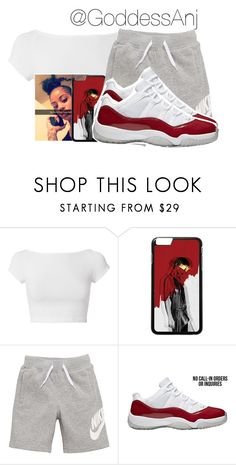 """"""""""" by goddessanj ❤ liked on Polyvore featuring Helmut Lang and NIKE"""