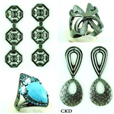 See now, buy now!! Rodium negro!! www.ckdsemijoias.com.br