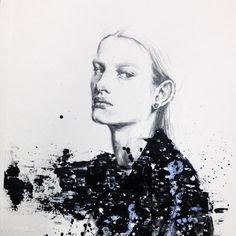 stella attack #bunkafashionacademy #fashionillustration#fashion #fashiondrawing #instaart #imperfect #inspiration #illustration #artes #artwork #acrylic #andro #androgynous #pencil #painting#drawing#karnkarnillustration