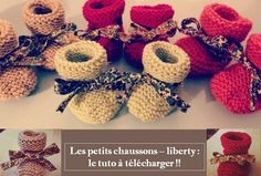 Les petits chaussons - liberty : le tuto à télécharger !
