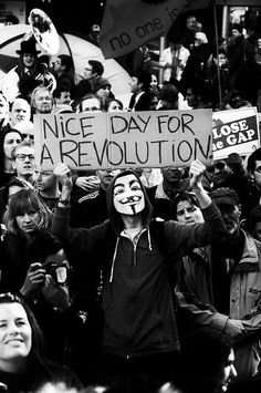 Image about black and white in all them cool things. by The_Untold_Youth Image de revolution, black and white, and mask Punk Rock, Revolution, Protest Signs, Protest Art, Black And White Aesthetic, Poses References, Mode Blog, Power To The People, Photojournalism