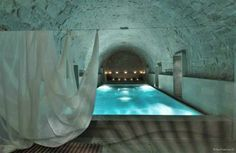 Thermal Spa Built from Beer Barrels at Zurich's Thermalbad and Spa - Thrillist Nation