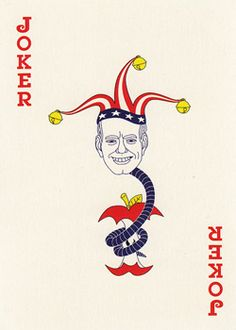 New York PressJoker Playing Card, 2003