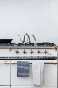 Lacanche Range - This stove is gorgeous! Would make any kitchen to die for.