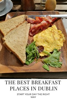 Where to find the best places for breakfast in Dublin. #dublin #foodie