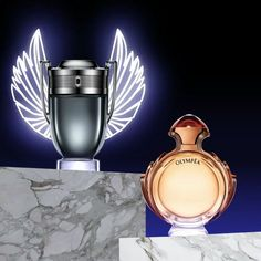 """958 Likes, 16 Comments - Paco Rabanne Parfums (@pacorabanneparfums) on Instagram: """"Always victorious and glorious. Invictus & Olympéa. #InvictusPacoRabanne #OlympeaPacoRabanne"""""""