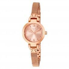 Reloj Bohème Mini de acero IP rosado