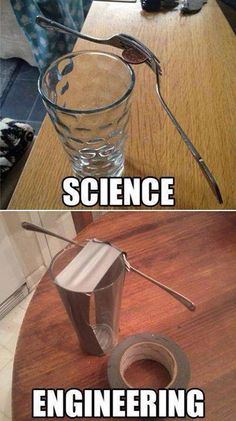 Science vs engenering..