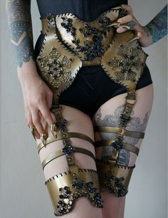 Agnieszka Osipa corsets and harnesses. The Gothic Fairy tale