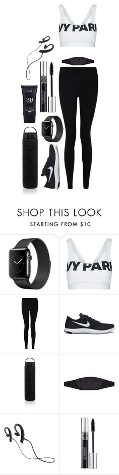 """Untitled #126"" by svccvlent ❤ liked on Polyvore featuring Topshop, Sweaty Betty, NIKE, Tula Athletica, Sony and Christian Dior"
