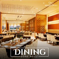 Dining at Nataraj Sarovar Jhansi Portico is a perfect way to end the day.   For bookings, call  0510 233 0800.  #NatarajSarovarPorticoJhansi #BestPlaceToDine #DelectableCuisine