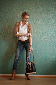 Fashion clothes women, Office attire women, Casual work outfits, Fashion, Fashion for women over Work outfits women - 55 Beautiful Outfits Ideas for Women Over 40 - Fall Outfits For Work, Casual Work Outfits, Mode Outfits, Work Casual, Casual Fall, Casual Dresses, Casual Chic, Summer Outfits, Casual Wear