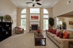 Sherwin Williams Kilim Beige Our main wall color in Living room and Dining room. Beige Wall Colors, Room Paint Colors, Paint Colors For Living Room, Beige Walls, Color Paints, Beige Paint, Kilim Beige Sherwin Williams, Beige Sofa Living Room, Living Room Arrangements