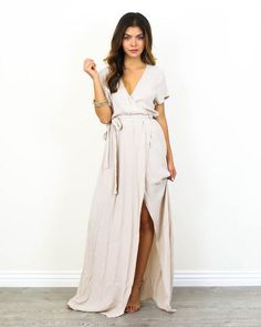 Designer Wrap Dresses 21 Outfits glamhere.com Wrap Dress and Nude heels
