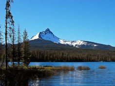 Mt. Washington and Big Lake. Oregon.